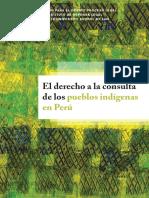 309599453 El Derecho a La Consulta de Los Pueblos Indigenas en El Peru