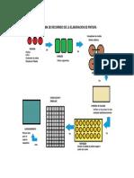 Diagrama de Recorrido de La Elaboracion de Pintura