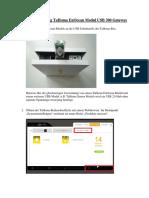 Anleitung TaHoma EnOcean USB- Modul