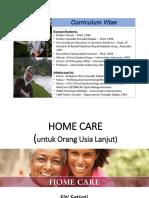 Satelit Simposium 22.1 Home Care Oleh Prof. Dr. Dr. Siti Setiati Sp