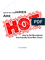 Ken Bechtel -Boundaries Are HOT