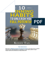 Kenny Tan -10 Winning Habits to Unleash Your Full Potential