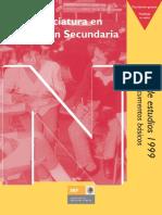Plan EstudIio de Educación Secundaria 1999