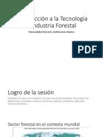 Introducción a La Tecnología e Industria Forestal