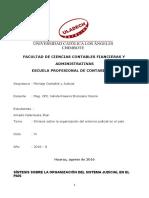 Síntesis Sobre La Organización Del Sistema Judicial en El País