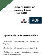 Pasado, presente y futuro del empleo en Uruguay
