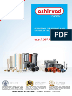 Ashirvad Plumbing Price List 1-4-2016-Old