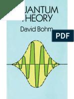 Quantum Theory- David Bohm VER 1A