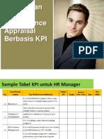 Penjelasan Cara Mengisi Form Performance Appraisal Berbasis KPI
