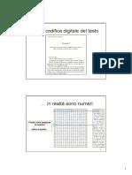 La Codifica Digitale Del Testo