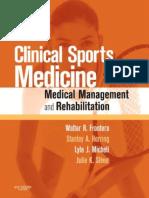 Frontera Clinical Sports Medicine