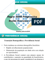 Regra 85-95 Progressiva