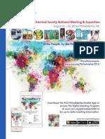 American Chemical Society 2016 Program
