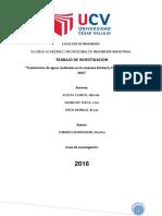Articulo Cientifico( Tratamiento de aguas residuales en la empresa Kimberly Clark en el periodo 2015)