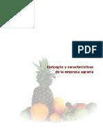 Concepto y Características de La Empresa Agraria