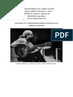 Literatura e Repertório III - Egberto Gismonti