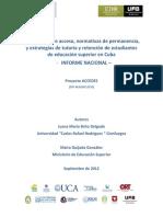estrategías de retencion Cuba