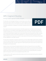 MPLS Segment Routing