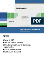 Owasp Il 2007 Soa Security