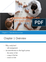 Law122 Chapter 1 Powerpoint