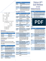 Lsf7.05 Quick Reference