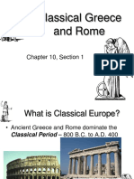 Chapter 10 Section 1 Classical Greece and Rome 1208825748773625 9