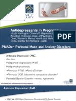 Antidepressants in Pregnancy4 2016