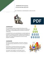 ADMINISTRACION Funcion de Organizacion