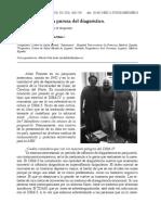 Allen Frances y La Pureza Del Diagnostico