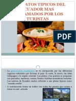 Los Platos Tipicos Del Ecuador Mas Reclamados Por