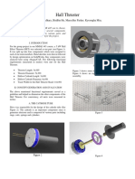 hall effect thruster - technical report