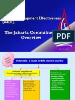 A4DE-The Jakarta Commitment