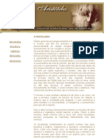 Aristóteles - Psicologia