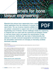 Biomaterials for Bone Tissue Engineering 2008 Materials Today