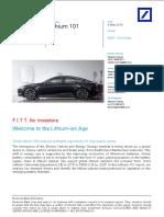 Lithium Report