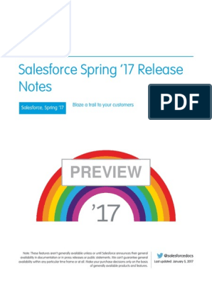 Salesforce Spring17 Release Notes | Salesforce Com | Gmail