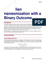 Mendelian Randomization With a Binary Outcome