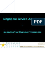 Measuring Your Customers Experience by Singapore Service Academy