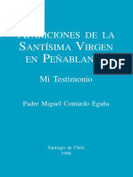 """Chile, """"Apariciones de la Virgen María en Peñablanca"""""""