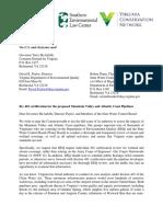 Virginia DEQ 401 Certification Sign-On Letter FINAL