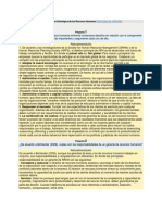 TR046 - Gestión Estratégica de Los Recursos Humanos Ejercicios de Reflexión