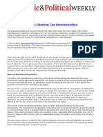 GST and the States- Sharing Tax Administration