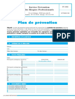 Formulaire Exemple Plan Prevention