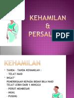KEHAMILAN .PERSALINAN & NIFAS