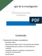 Construcción de Instrumentos Cuantitativos