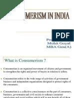 Consumerism in India PPT