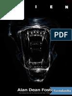 Alien, El Octavo Pasajero - Alan Dean Foster