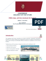 Bureau Veritas - FSRU Ships Will They Dominate the Market Bruno Dabouis 2012