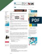 11 redes inalámbricas fundamentales para Internet de las Cosas , Revista Española de electronica
