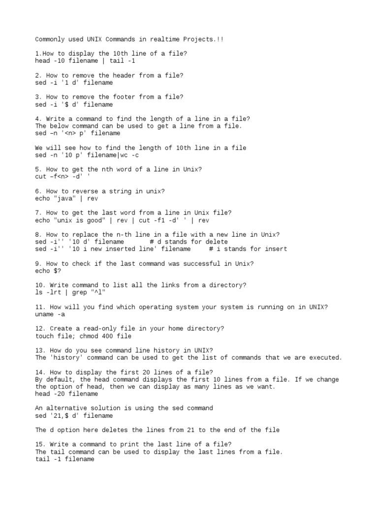 UNIX Commands txt   Filename   String (Computer Science)